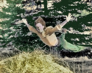 Me in 1969 or 1970. Photo by Laurie Fuchs